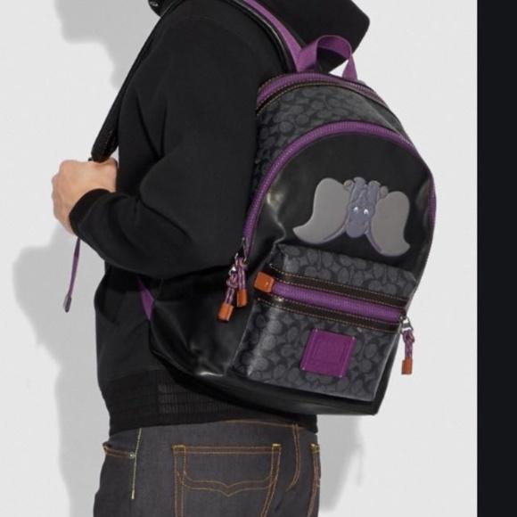 NWT coach x Disney dumbo backpack